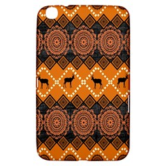 Traditiona  Patterns And African Patterns Samsung Galaxy Tab 3 (8 ) T3100 Hardshell Case