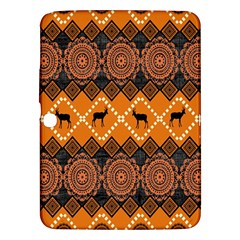 Traditiona  Patterns And African Patterns Samsung Galaxy Tab 3 (10.1 ) P5200 Hardshell Case