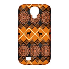 Traditiona  Patterns And African Patterns Samsung Galaxy S4 Classic Hardshell Case (PC+Silicone)