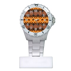 Traditiona  Patterns And African Patterns Plastic Nurses Watch