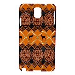 Traditiona  Patterns And African Patterns Samsung Galaxy Note 3 N9005 Hardshell Case