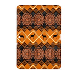 Traditiona  Patterns And African Patterns Samsung Galaxy Tab 2 (10.1 ) P5100 Hardshell Case