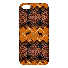 Traditiona  Patterns And African Patterns iPhone 5S/ SE Premium Hardshell Case