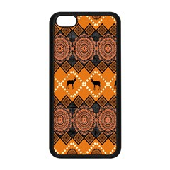 Traditiona  Patterns And African Patterns Apple iPhone 5C Seamless Case (Black)