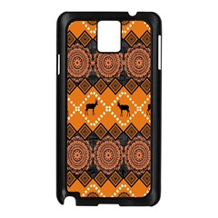 Traditiona  Patterns And African Patterns Samsung Galaxy Note 3 N9005 Case (Black)