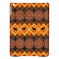 Traditiona  Patterns And African Patterns iPad Air Hardshell Cases