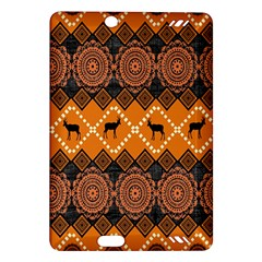 Traditiona  Patterns And African Patterns Amazon Kindle Fire HD (2013) Hardshell Case