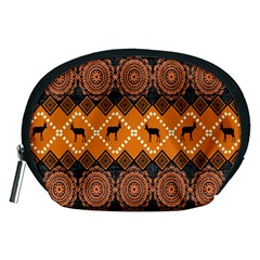 Traditiona  Patterns And African Patterns Accessory Pouches (Medium)