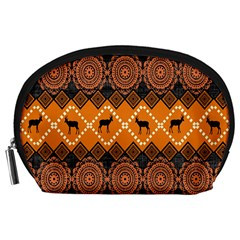 Traditiona  Patterns And African Patterns Accessory Pouches (Large)