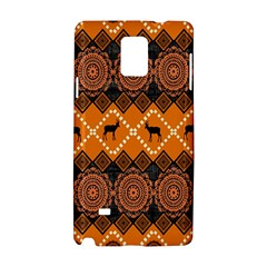 Traditiona  Patterns And African Patterns Samsung Galaxy Note 4 Hardshell Case