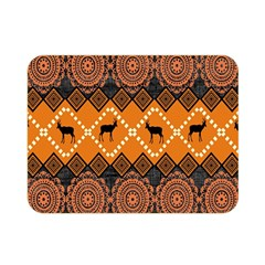 Traditiona  Patterns And African Patterns Double Sided Flano Blanket (Mini)
