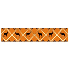 Traditiona  Patterns And African Patterns Flano Scarf (Small)