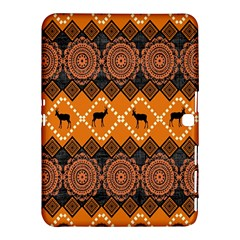Traditiona  Patterns And African Patterns Samsung Galaxy Tab 4 (10.1 ) Hardshell Case