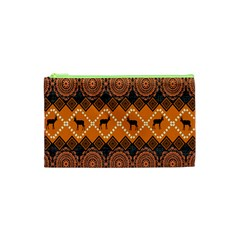 Traditiona  Patterns And African Patterns Cosmetic Bag (XS)