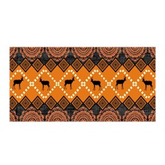 Traditiona  Patterns And African Patterns Satin Wrap