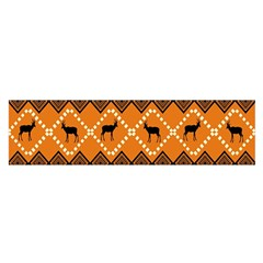 Traditiona  Patterns And African Patterns Satin Scarf (Oblong)