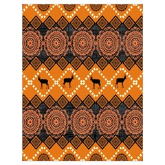 Traditiona  Patterns And African Patterns Drawstring Bag (Large)