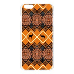 Traditiona  Patterns And African Patterns Apple Seamless iPhone 6 Plus/6S Plus Case (Transparent)