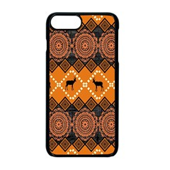 Traditiona  Patterns And African Patterns Apple iPhone 7 Plus Seamless Case (Black)