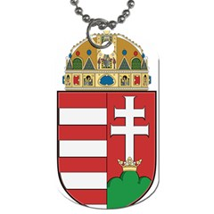Medieval Coat of Arms of Hungary  Dog Tag (One Side)