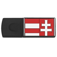 Medieval Coat of Arms of Hungary  USB Flash Drive Rectangular (2 GB)