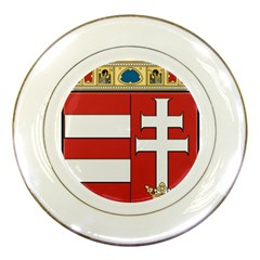 Medieval Coat of Arms of Hungary  Porcelain Plates