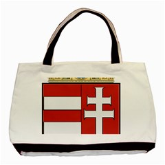 Medieval Coat of Arms of Hungary  Basic Tote Bag (Two Sides)