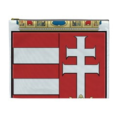 Medieval Coat of Arms of Hungary  Cosmetic Bag (XL)