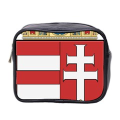 Medieval Coat of Arms of Hungary  Mini Toiletries Bag 2-Side