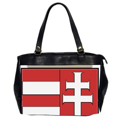 Medieval Coat of Arms of Hungary  Office Handbags (2 Sides)