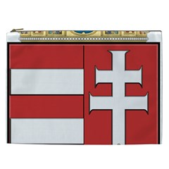 Medieval Coat of Arms of Hungary  Cosmetic Bag (XXL)