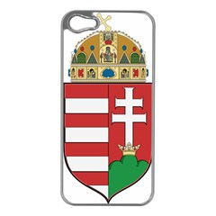 Medieval Coat of Arms of Hungary  Apple iPhone 5 Case (Silver)