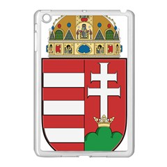 Medieval Coat of Arms of Hungary  Apple iPad Mini Case (White)