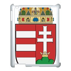 Medieval Coat of Arms of Hungary  Apple iPad 3/4 Case (White)