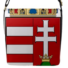 Medieval Coat of Arms of Hungary  Flap Messenger Bag (S)