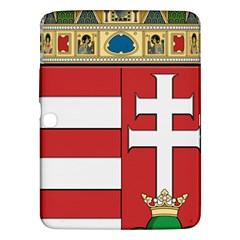 Medieval Coat of Arms of Hungary  Samsung Galaxy Tab 3 (10.1 ) P5200 Hardshell Case