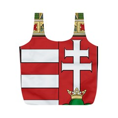 Medieval Coat of Arms of Hungary  Full Print Recycle Bags (M)