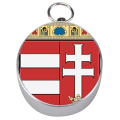 Medieval Coat of Arms of Hungary  Silver Compasses
