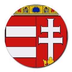 Medieval Coat of Arms of Hungary  Round Mousepads