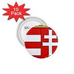 Medieval Coat of Arms of Hungary  1.75  Buttons (10 pack)