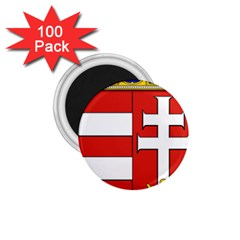 Medieval Coat of Arms of Hungary  1.75  Magnets (100 pack)