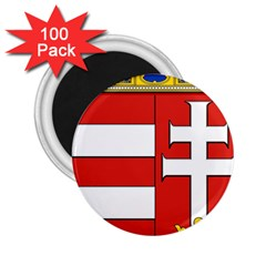 Medieval Coat of Arms of Hungary  2.25  Magnets (100 pack)