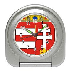 Medieval Coat of Arms of Hungary  Travel Alarm Clocks