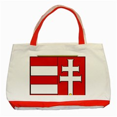 Medieval Coat of Arms of Hungary  Classic Tote Bag (Red)