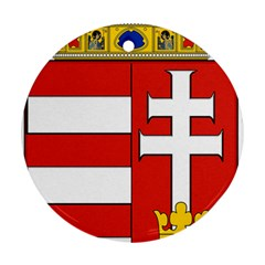 Medieval Coat of Arms of Hungary  Round Ornament (Two Sides)