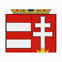 Medieval Coat of Arms of Hungary  Small Glasses Cloth (2-Side)