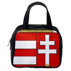 Medieval Coat of Arms of Hungary  Classic Handbags (One Side)