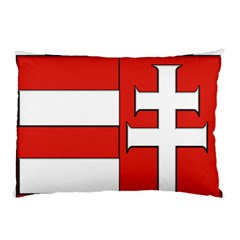 Medieval Coat of Arms of Hungary  Pillow Case