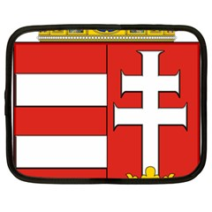 Medieval Coat of Arms of Hungary  Netbook Case (XXL)
