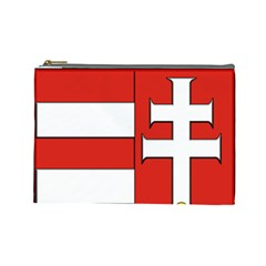 Medieval Coat of Arms of Hungary  Cosmetic Bag (Large)